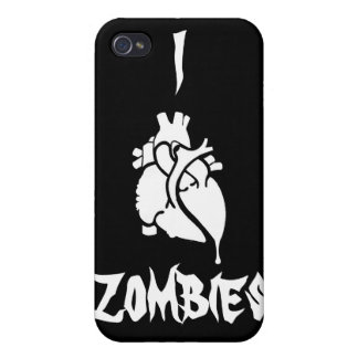 I <3 Zombies iPhone 4 Cases