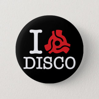 I 45 Adapter Disco 6 Cm Round Badge