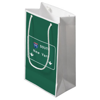I-95 Interstate New York Empire State NY Highway Small Gift Bag