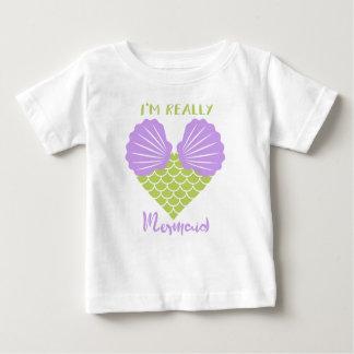 i a.m. really mermaid baby T-Shirt