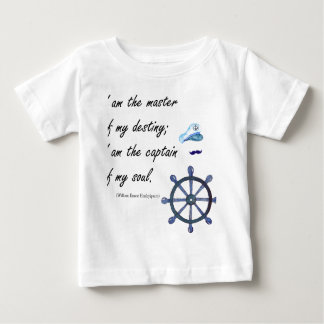 I a.m. the Captain of my Soul Baby T-Shirt