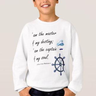 I a.m. the Captain of my Soul Sweatshirt