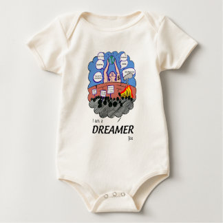 I a.m. to Dreamer too Baby Bodysuit