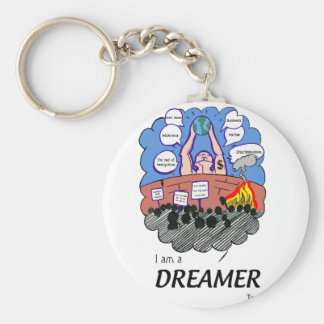 I a.m. to Dreamer too Key Ring