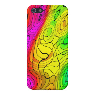 i Abstract Pen Colourful iPhone 5 Case
