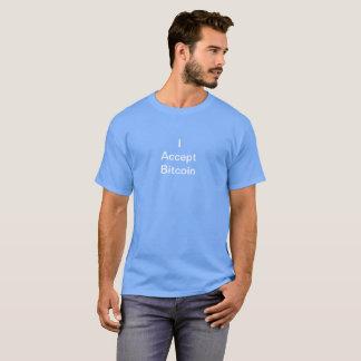 I Accept Bitcoin Shirt