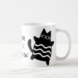 I adore being a cat coffee mug