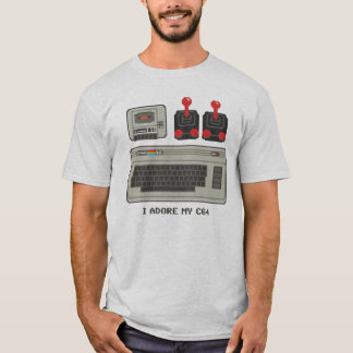 I adore my C64! 8bit T-Shirt Commodore 64