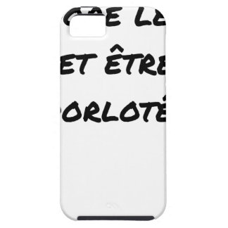I ADORE the TEA AND BEING PAMPERED - Word games iPhone 5 Case