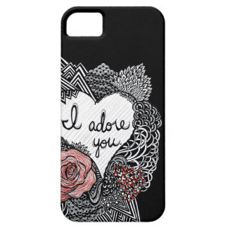 I Adore You iPhone 5 Case