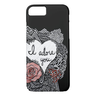 I Adore You iPhone 7 Case