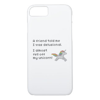 I almost fell off my unicorn iPhone 7 case