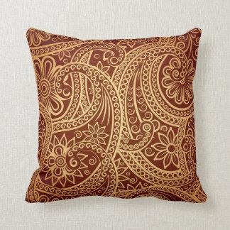 I always knew paisley would make a comeback cushion