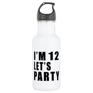 I Am 12 Let's Party 532 Ml Water Bottle