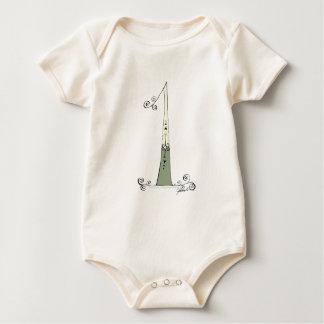 I Am 1 from tony fernandes design Baby Bodysuit