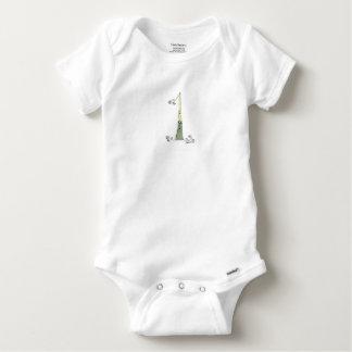 I Am 1 from tony fernandes design Baby Onesie