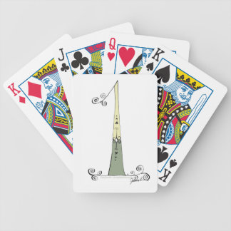 I Am 1 from tony fernandes design Bicycle Playing Cards
