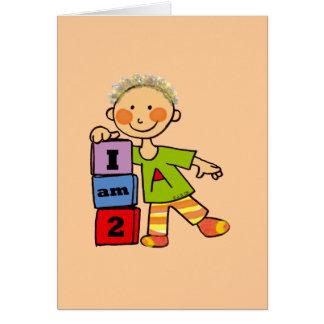I am 2 card