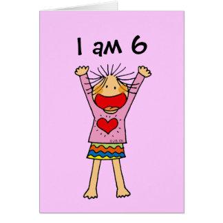 I am 6 card