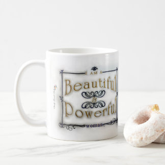 I am a Beautiful & Powerful Woman Coffee Mug