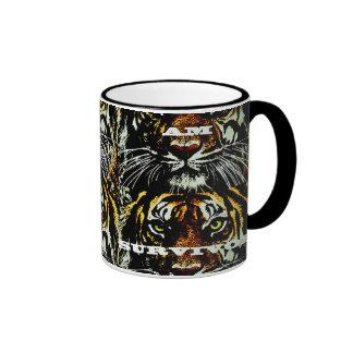 I am a cancer Survivor! Ringer Coffee Mug