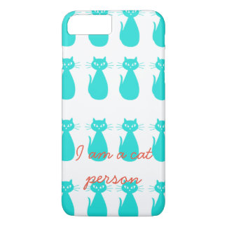 I am a cat person iPhone back cover