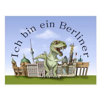 I am a citizen of Berlin Postcard