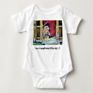 I am a complicated little boy - I love you all Baby Bodysuit