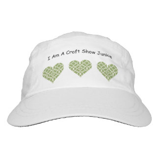 I Am A Craft Show Junkie Hat