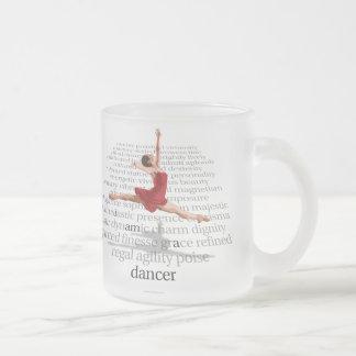 I Am A Dancer Frosted Glass Mug