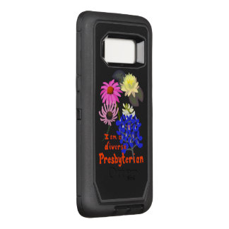 I am a Diverse Presbyterian (multi-flower) OtterBox Defender Samsung Galaxy S8 Case