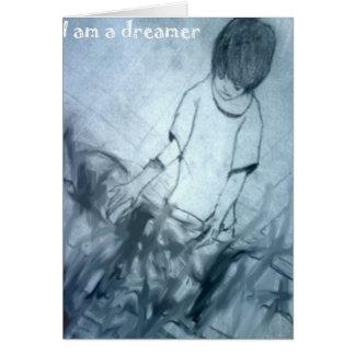I am a dreamer manga anime card