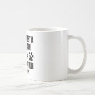 I am a Flat-Coated Retriever Mommy Basic White Mug