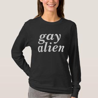i am a gay alien tshirt