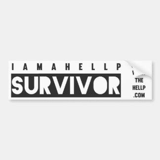 I am a HELLP Survivor Bumper Sticker Car Bumper Sticker