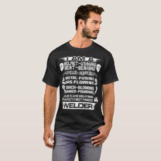 I AM A Helmet Wearing Heat T-Shirt