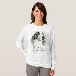 I am a hound lover shirt