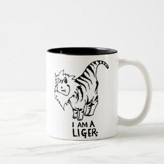 I Am A Liger Two-Tone Mug