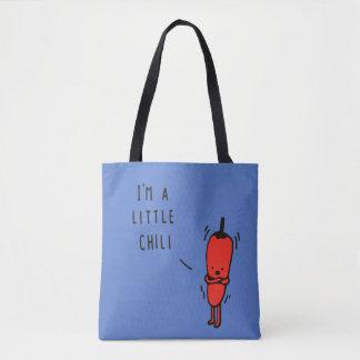 I am a little chili tote bag