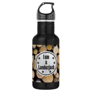 I am a Lumberjack vol 1 532 Ml Water Bottle