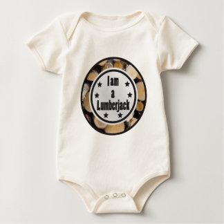 I am a Lumberjack vol 1 Baby Bodysuit