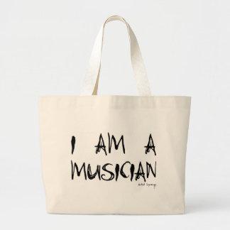 I AM A MUSICIAN TOTE BAG