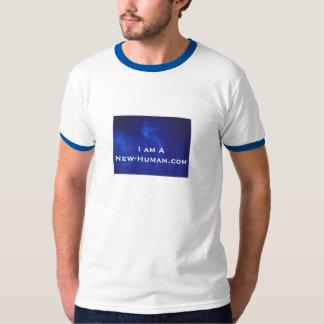 I am A New-Human.com Sleek Shirt