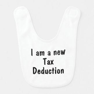 I am a new tax deduction baby bibs