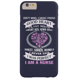I AM A NURSE BARELY THERE iPhone 6 PLUS CASE