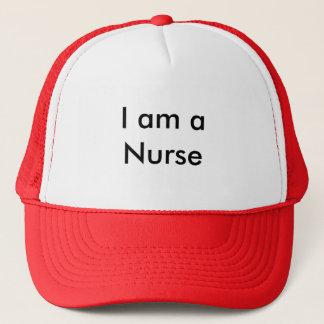 I am a Nurse Trucker Hat