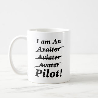 I am a Pilot Coffee Mug