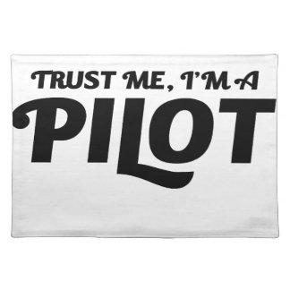 I am a Pilot Placemat