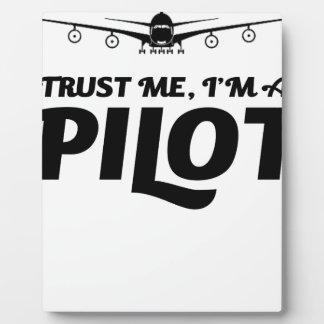 I am a Pilot Plaque