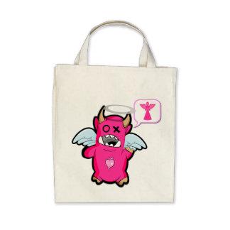 I am a pink fat Angel ! Canvas Bag